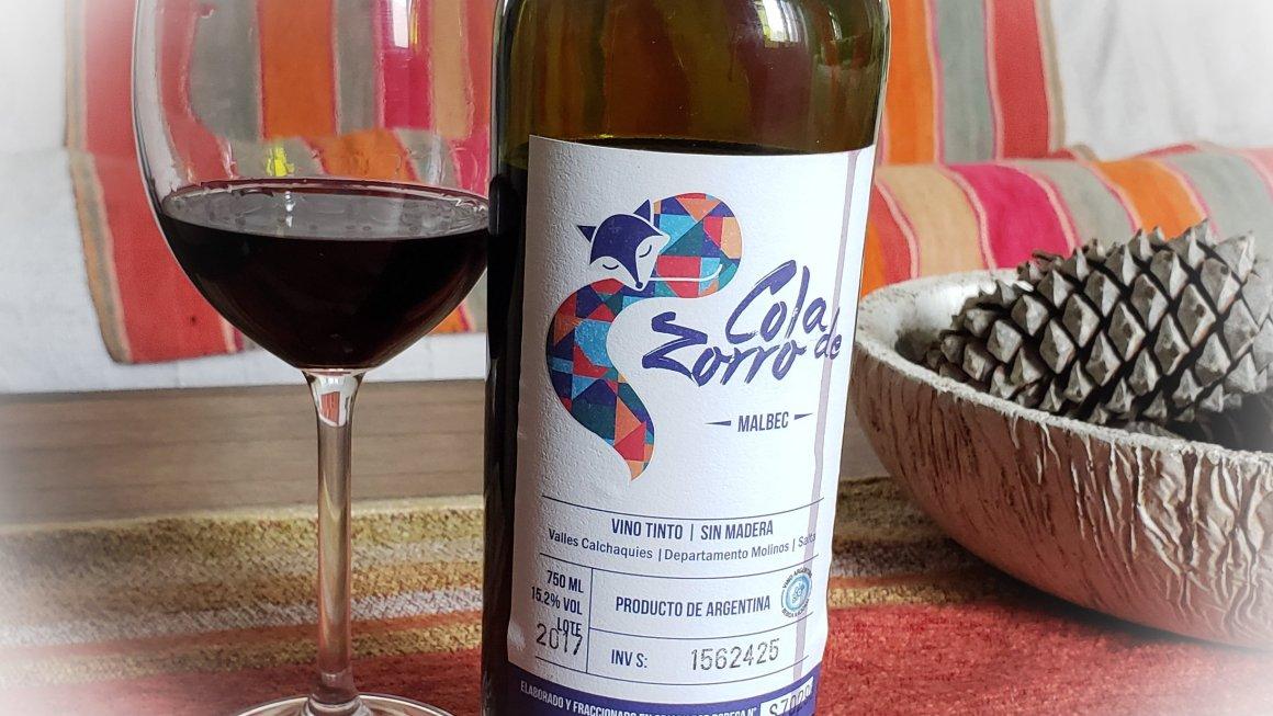 Cola de Zorro Malbec 2017 2