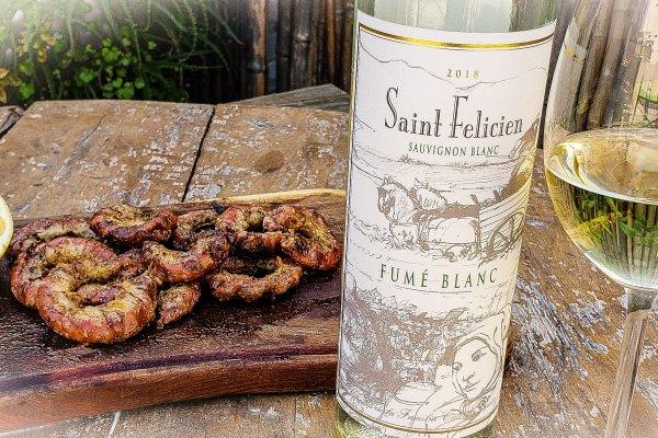 El recomendado: Saint Felicien Fumé Blanc Sauvignon Blanc 2018