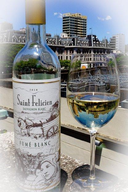 Saint Felicien Fumé Blanc Sauvignon Blanc 2018