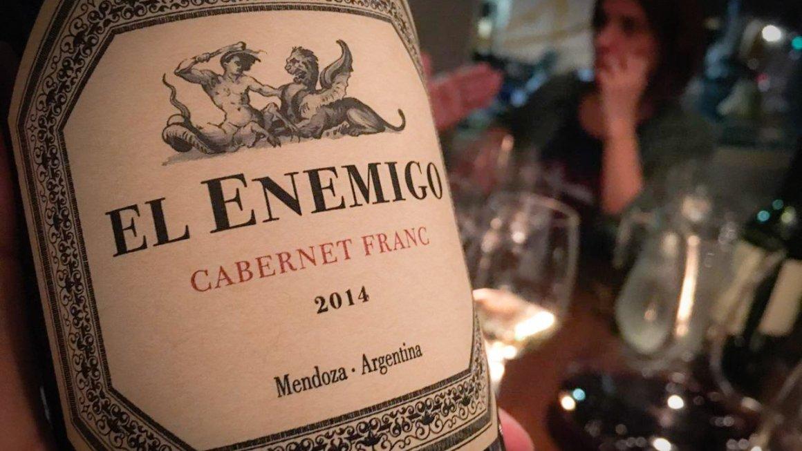 El Enemigo Cabernet Franc 2014 2
