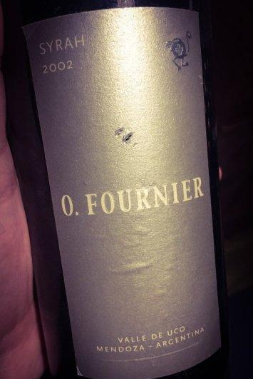 O. Fournier Syrah 2002