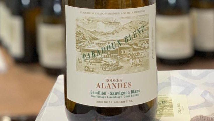 Lanzamiento: Alandes Paradoux Blend Blanc de Blancs II Edición 1