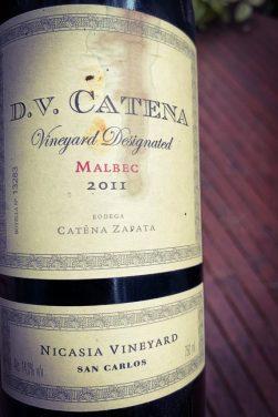 DV Catena Vineyard Designated Nicasia Malbec 2011 2