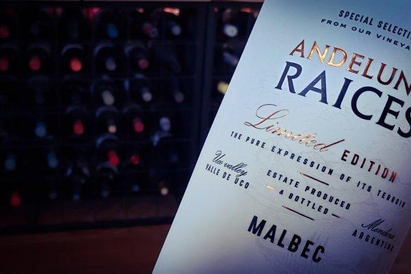 Raíces, los nuevos vinos jóvenes de Andeluna