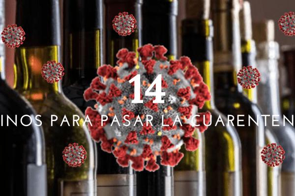 14 vinos para pasar la cuarentena