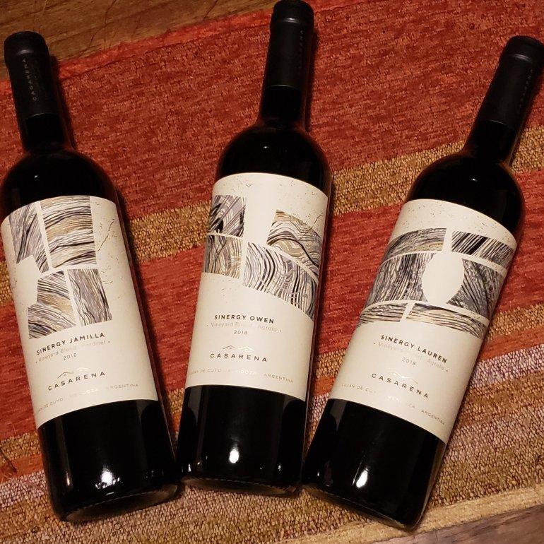 casarena sinergy vineyard blend