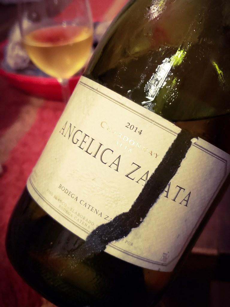 100 días - Angélica Zapata Chardonnay 2014