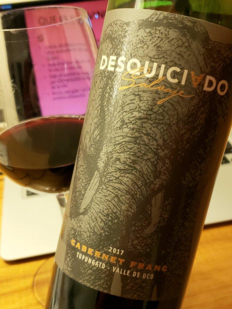 Desquiciado salvaje cabernet franc - vinos productores amigos