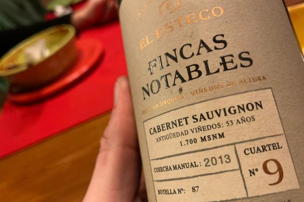 El Esteco Fincas Notables Cabernet Sauvignon