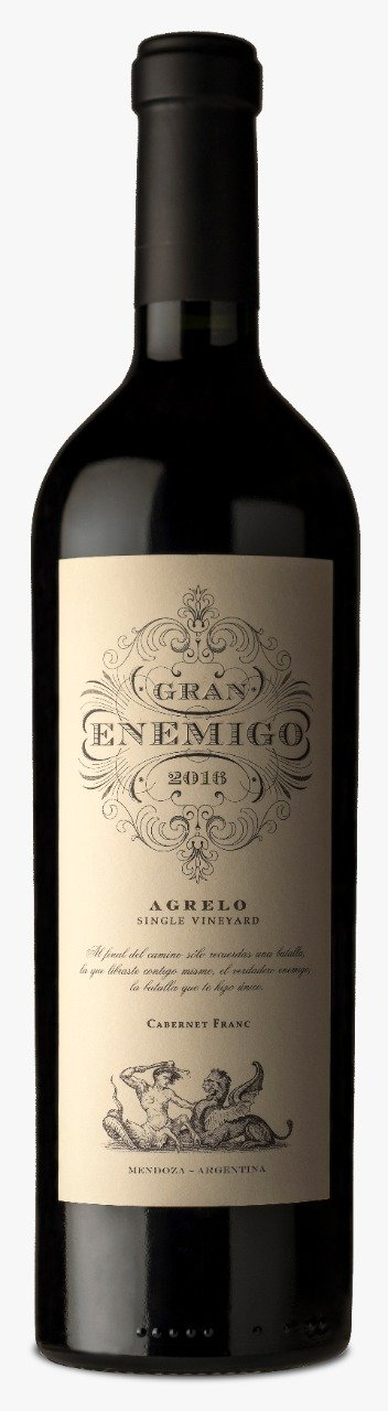 Gran Enemigo Single Vineyard Agrelo Cabernet Franc 2016