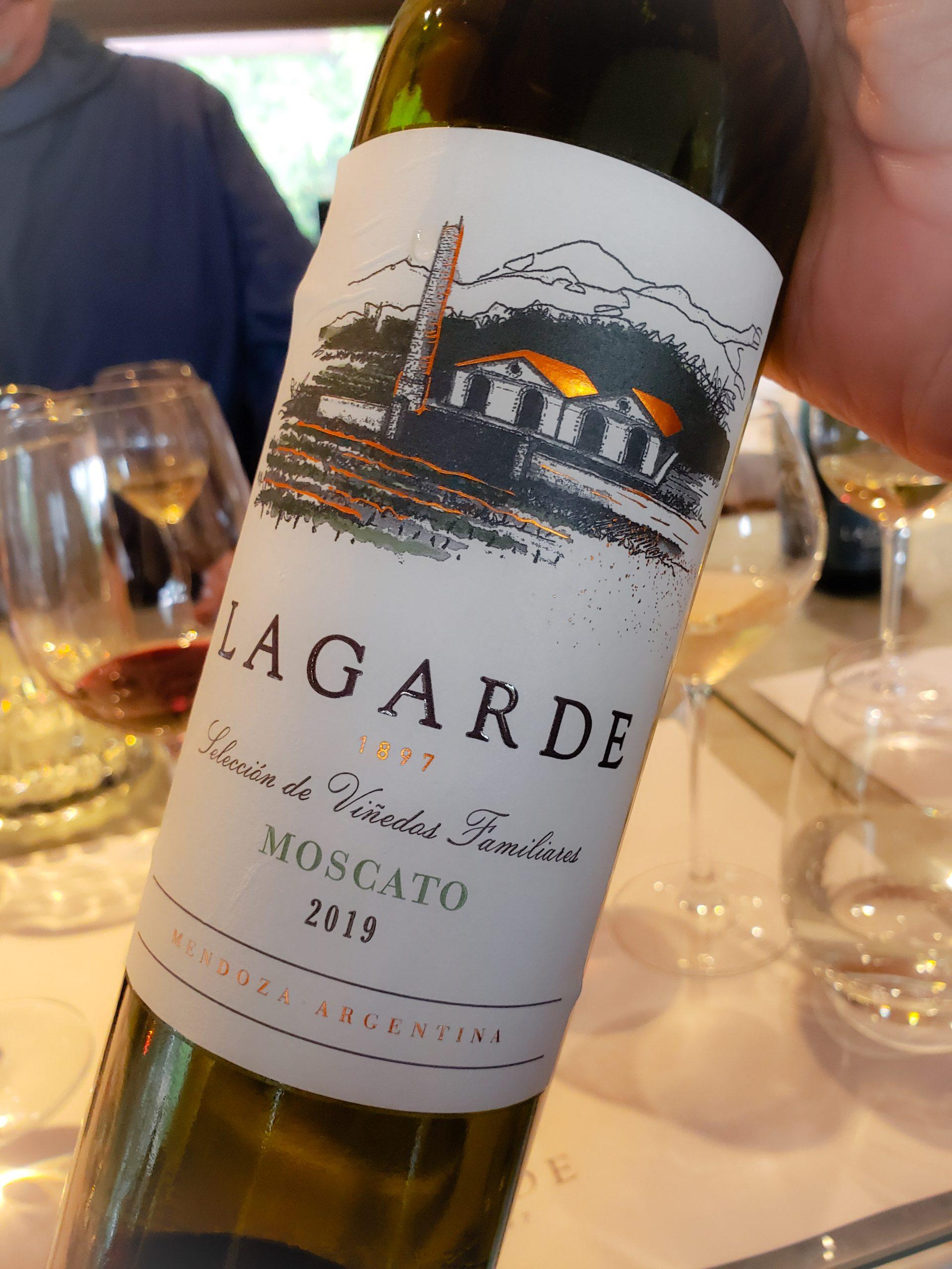 Bodega Lagarde - Moscato 2019