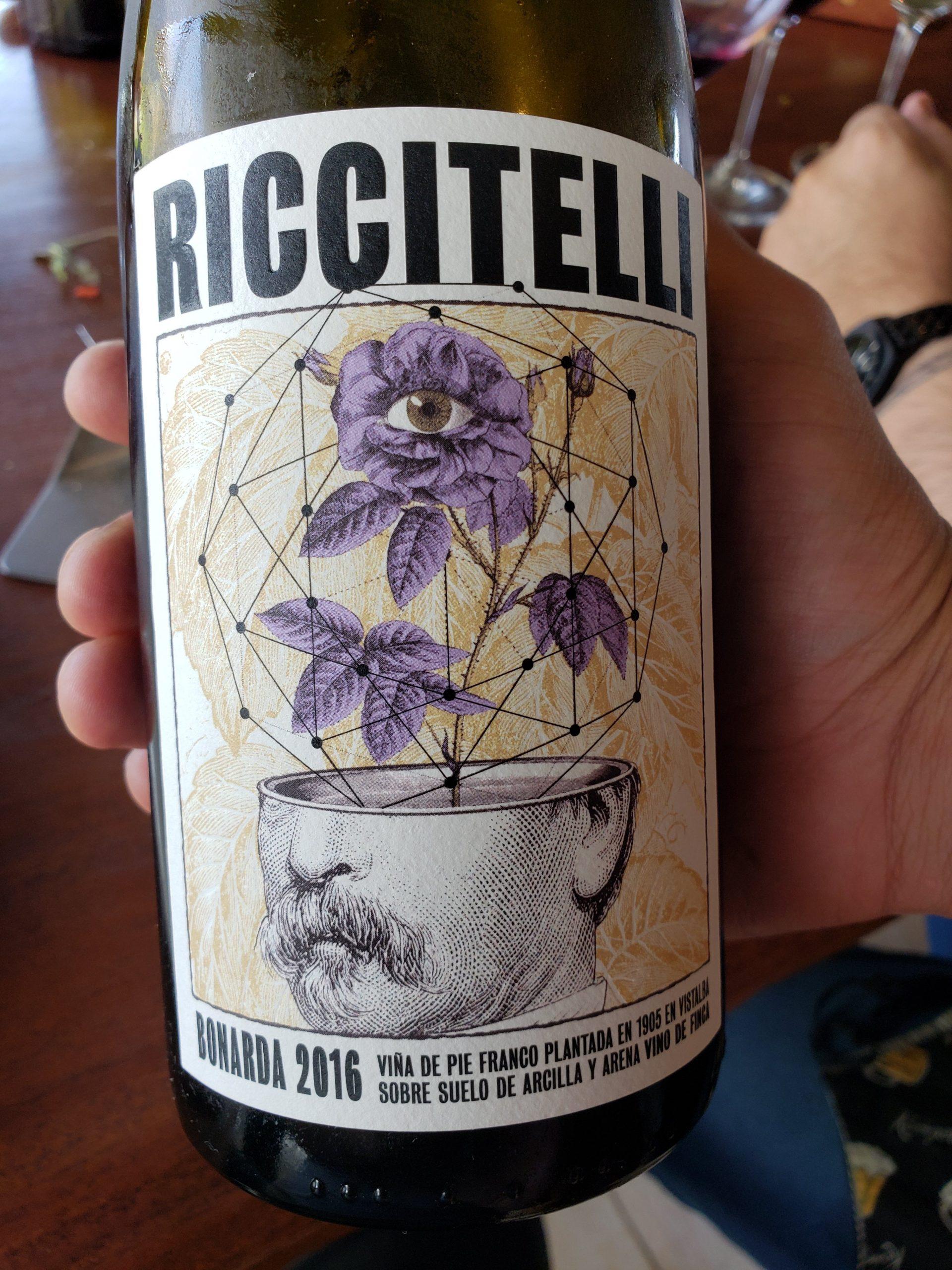 Riccitelli Bistró - Riccitelli Wines - Matías Riccitelli Vinos de Finca Bonarda 2016