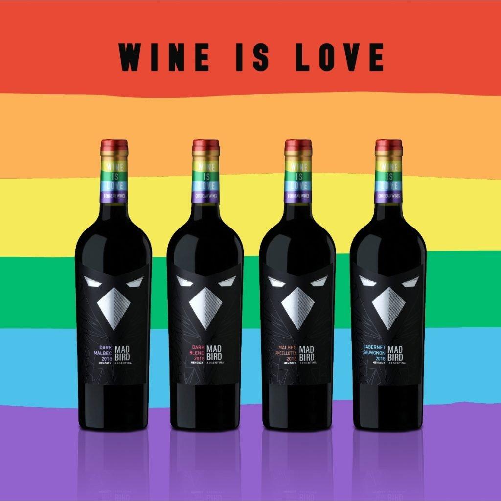 Wine is Love Corbeau Wines