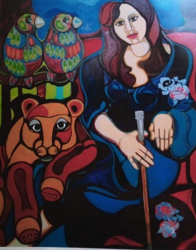 Cava de Arte de Bodega Santa Julia Ruth Hansen