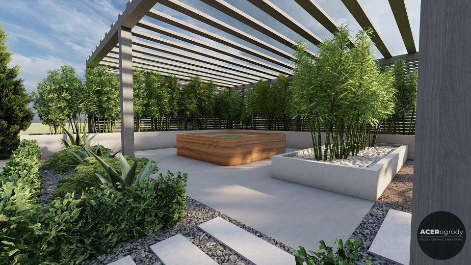 propozycja aranżacji ogrodu