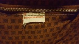 made in hong kong label