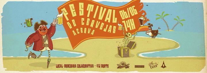 Festival de Cerveja Caseira – ACervA – 06/05/2017
