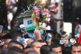 Círio de Nazaré, considerada a maior procissão religiosa do Brasil. Milhares de promesseiros e devotos acompanham a procisão ultrapassando 1 milhão de pessoas. Belém, Pará, Brasil Foto Ney Marcondes / Acervo H 09/10/2016