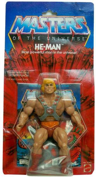 Oriiginal He-Man and the Masters of the Universe. Crédito da imagem: Vintage Action Figure