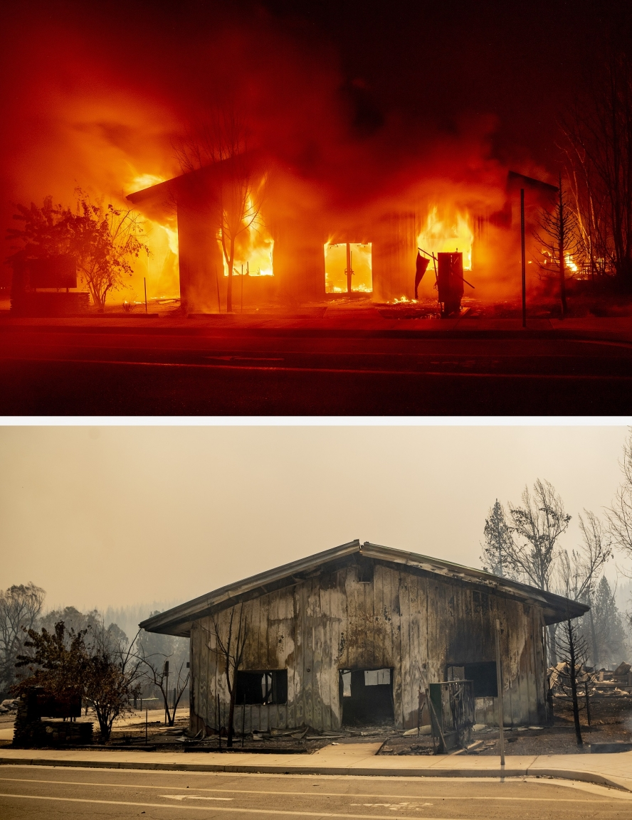 Spectacular images of the California wildfires win a major award