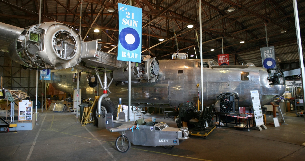 Restoring the last surviving RAAF Consolidated B-24 Liberator – 2016 Update