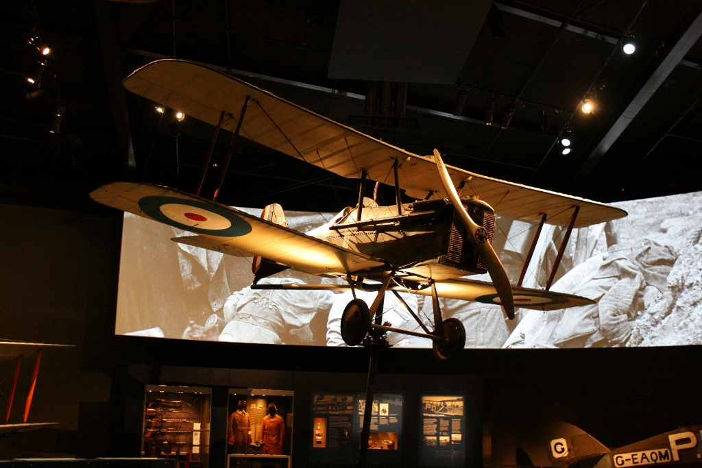 Australian War Memorial: Knights of the Sky – Royal Aircraft Factory S.E.5a Scout