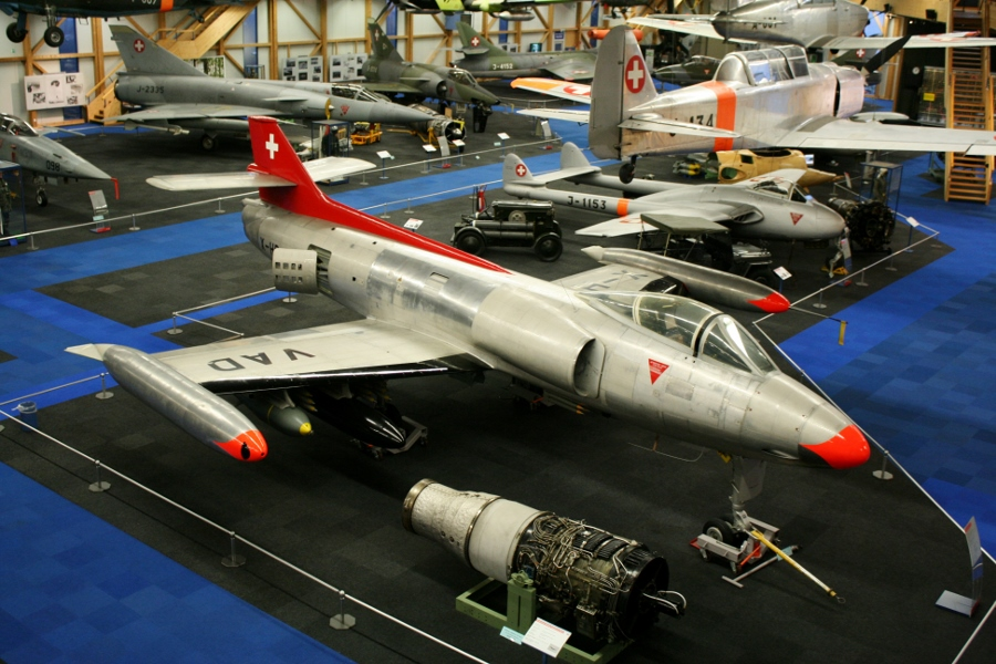 Swiss Air Force Centre: Home Grown Jet Fighter Prototypes