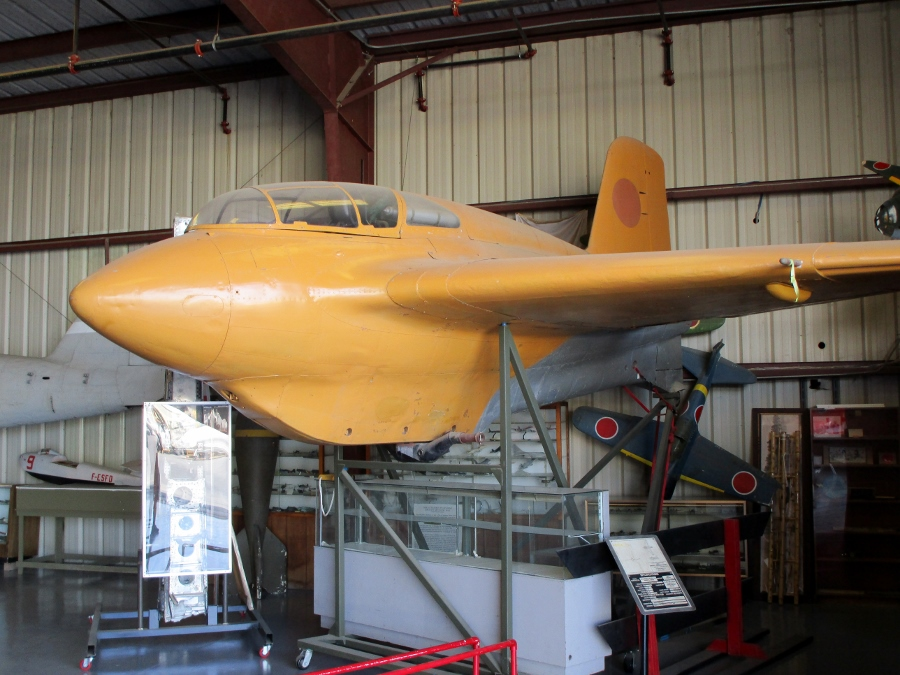 The Survivors: Mitsubishi J8M Shusui – Imperial Japan's Rocket Powered Interceptor