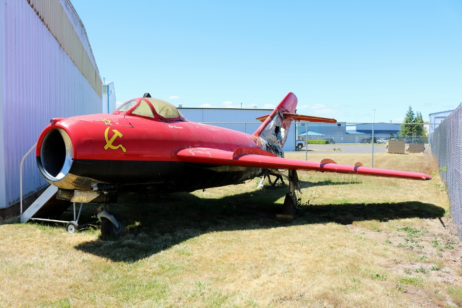 "The Fiery Tale (Tail) of ""MiG Magic"" at the Oregon Air & Space Museum"