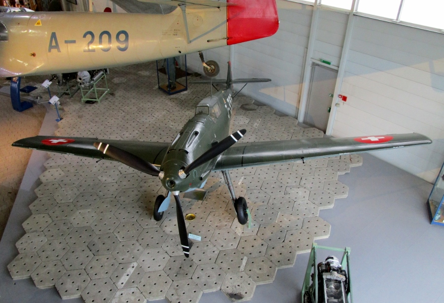 Swiss Air Force Centre: Messerschmitt Bf-109E-3