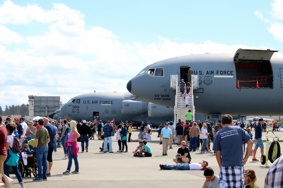 JBLM Airshow & Warrior Expo 2016 – Static Displays