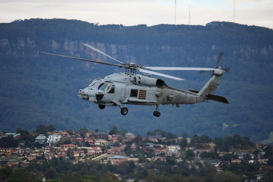 "Wings Over Illawarra 2017: RAN MH-60R ""Romeo"" Seahawk"