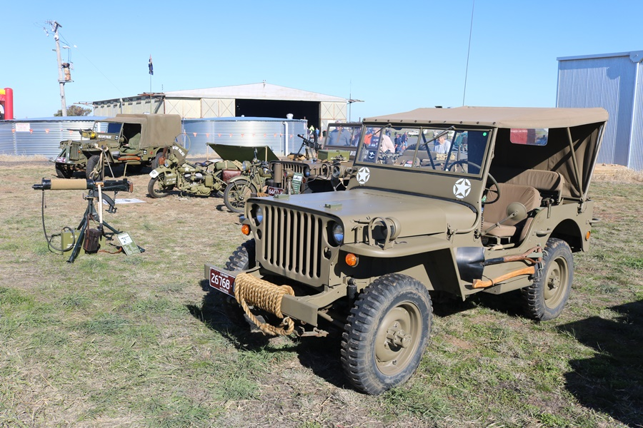 Nhill Military Vehicle Rendezvous 2017
