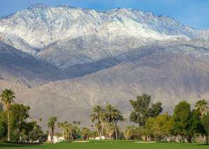 View of San Jacinto Mountains