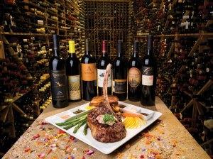 Beverlys restaurant features a huge wine cellar