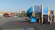 During recess and lunch, Cherokee Point's playground swarms with students using the equipment....