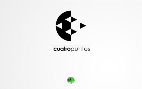 Logotipo e ícono para el colectivo cuatropuntos