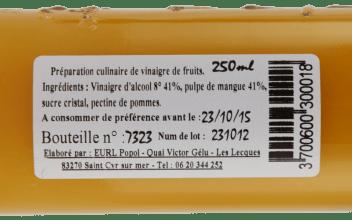 Vinaigres a la Pulpe voorbeeld ingredienten