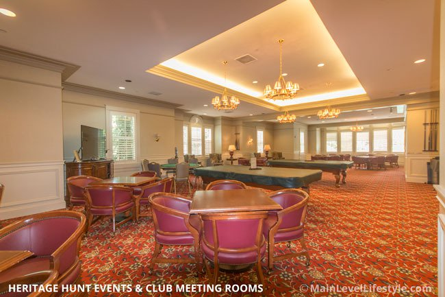 Heritage Hunt Club Meeting and Event Room