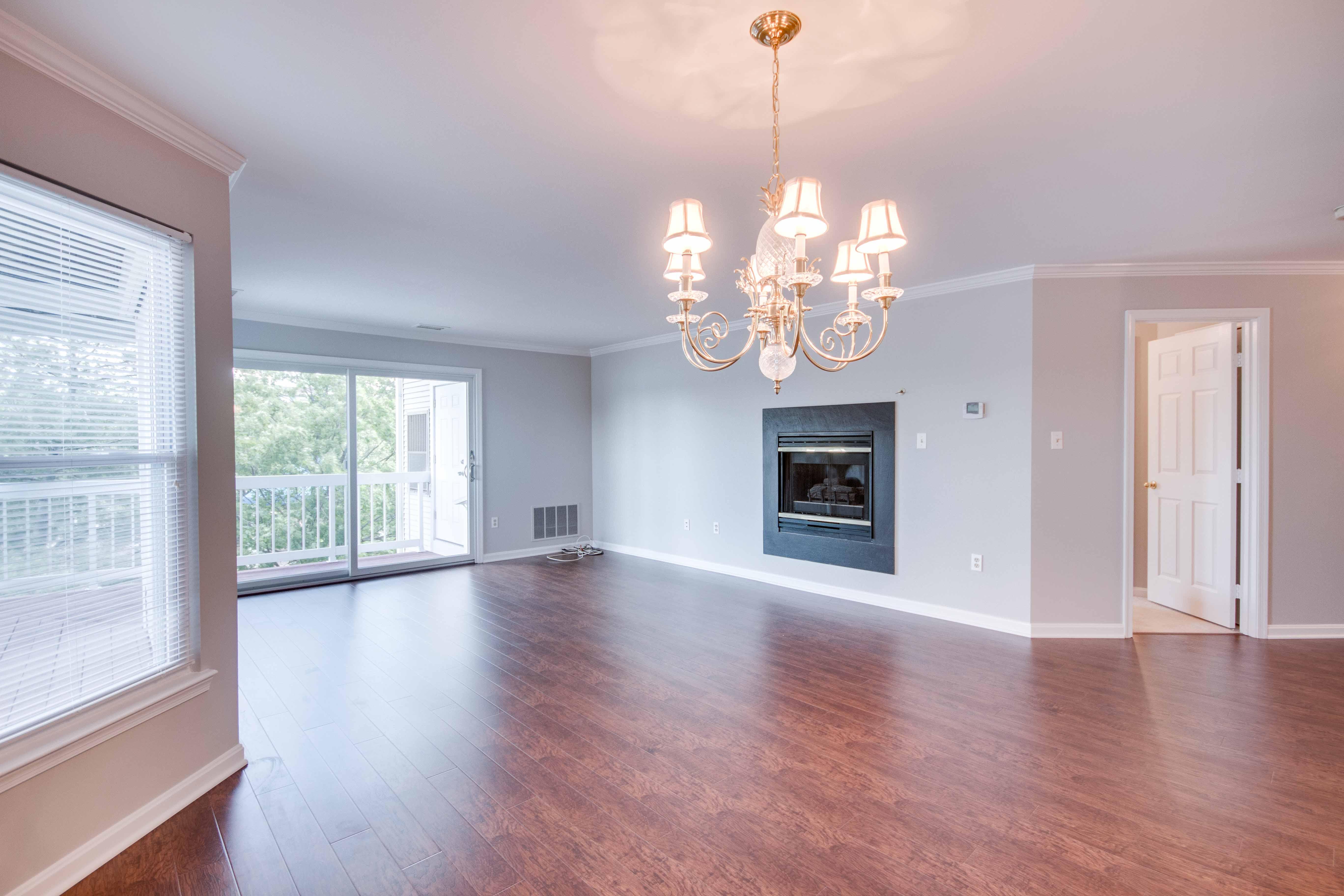 20576 Snowshoe Square #201, Ashburn, VA -  Living Room Area