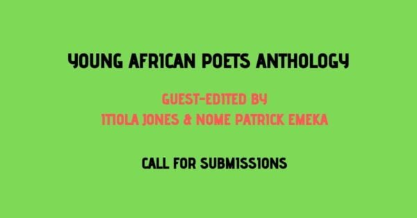 Teen Literature: Submit to the Young African Poets Anthology