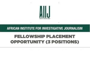 African Institute for Investigative Journalism (AIIJ) Fellowship Programme 2020