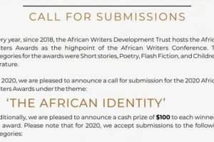 African Writers Award 2020