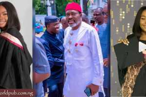 Actor Kanayo O. Kanayo celebrates as daughter graduates from university
