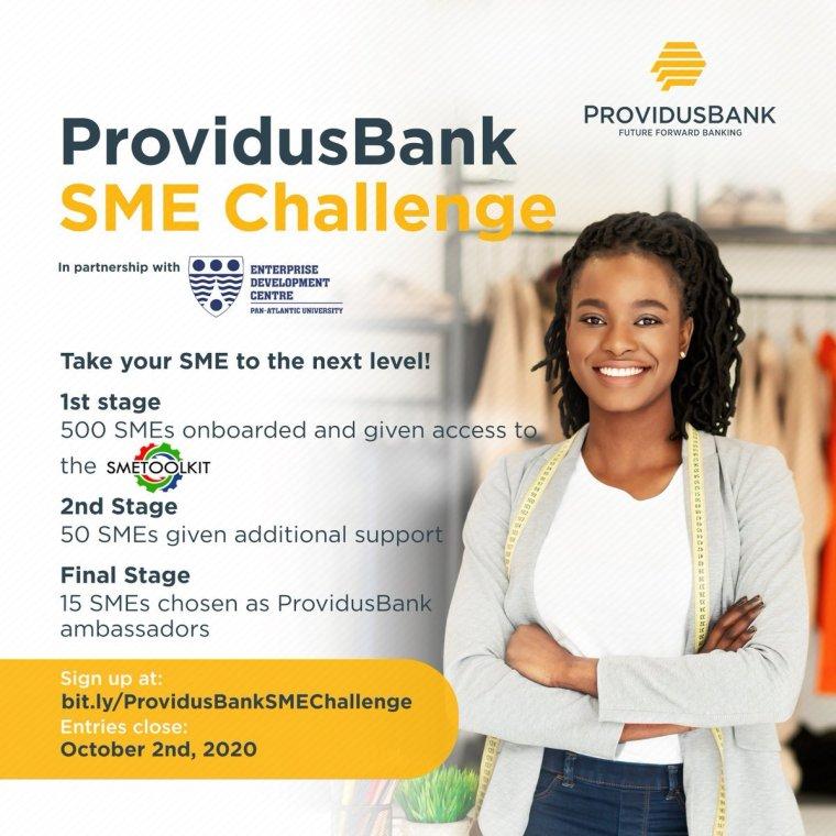 ProvidusBank SME Challenge 2020