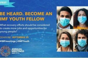 2020 IMF Youth Fellowship Contest For Young People Worldwide