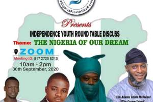 Atiku Cares Foundation presents Independence Youth Round Table Discuss