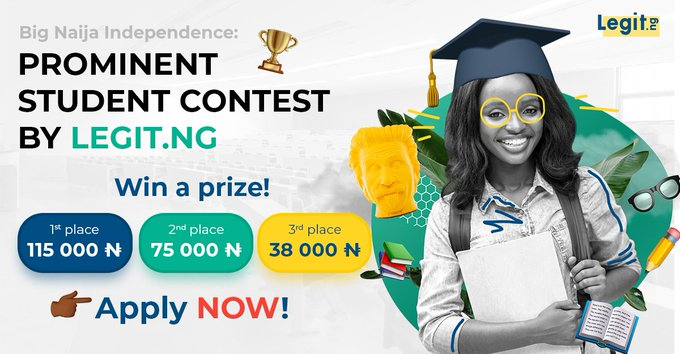 Legit.ng Prominent Student Essay Contest 2020 | Prize: Over N200,000