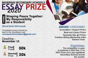 Nigerian Secondary Schools Essay Prize
