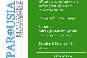 Parousia Reads & Magazine Short Story Contest